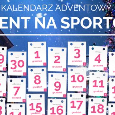 Kalendarz adwentowy na sportowo